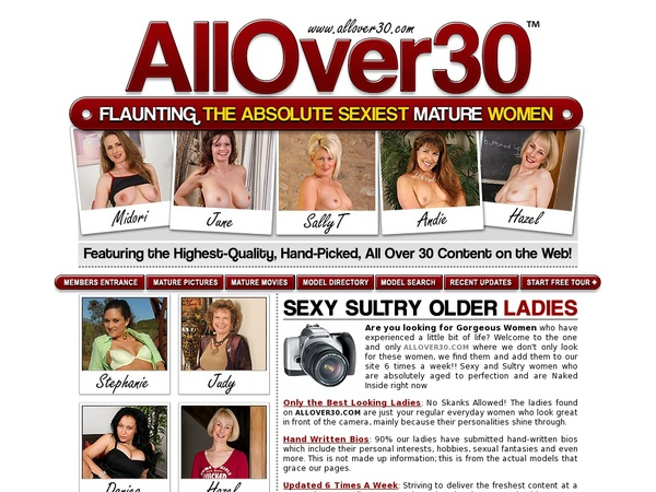 Allover30.com Com Discount Trial