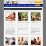 Boy Gusher Account Membership