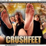 Crush Feet With Paysafecard