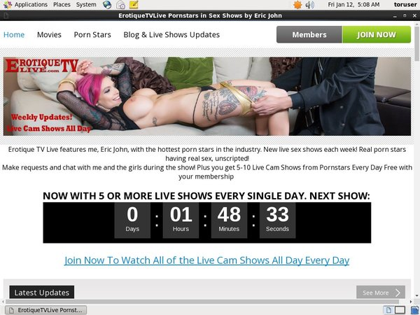 Erotiquetvlive Free Trial Signup