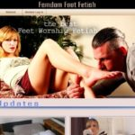 Femdom Foot Fetish Join By EU Debit