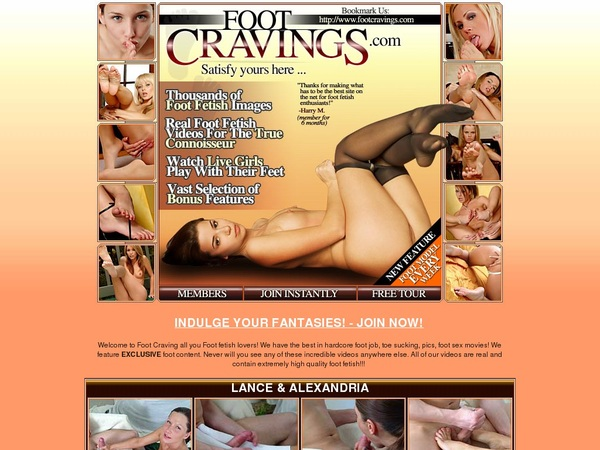 Footcravings Member Password