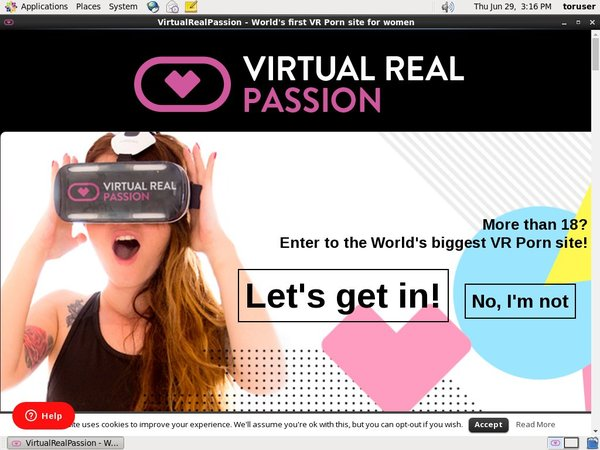 Free Login For Virtual Real Passion