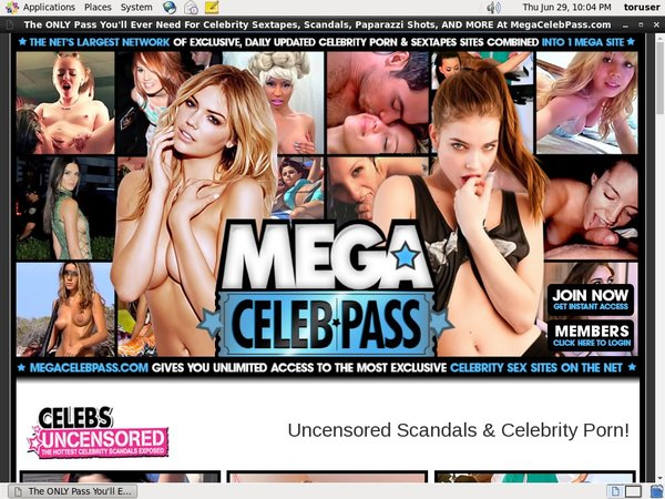 Free Logins For Mega Celeb Pass