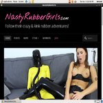 Free Nasty Rubber Girls Account Discount