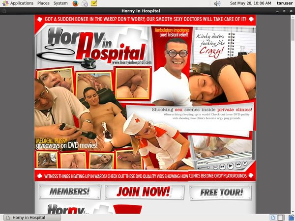 Horny In Hospital With Free Trial