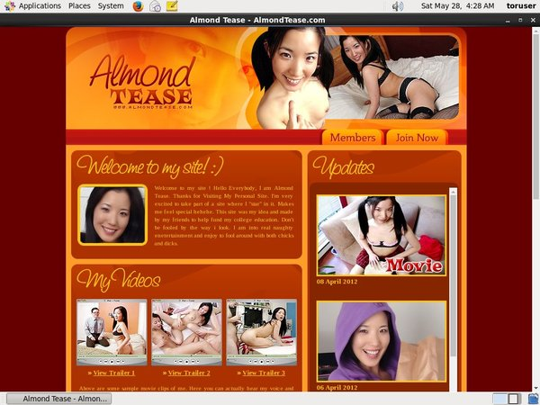 How To Get Into Almond Tease Free
