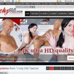 Tricky Old Teacher With AOL Account