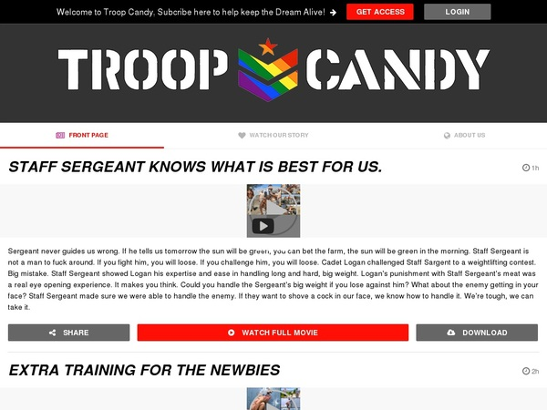 Troopcandy.com Premium Accounts