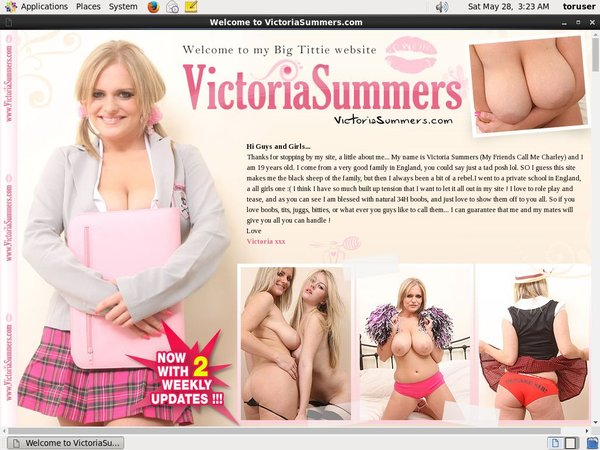 Victoriasummers Discount Promotion