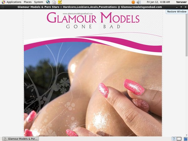 Glamour Models Gone Bad Account Generator 2016