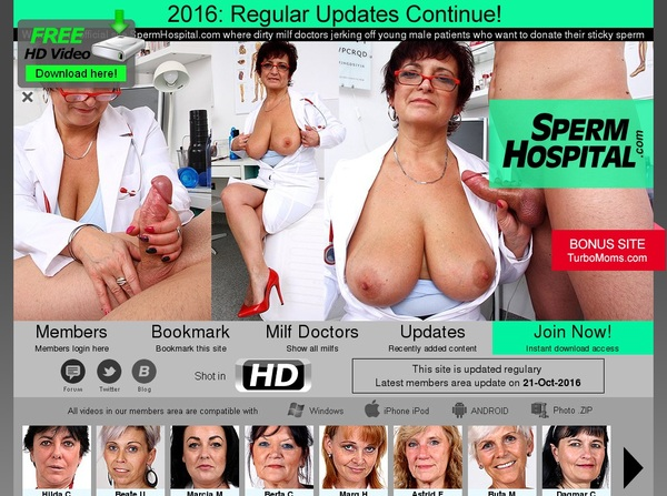 Sperm Hospital Site Rip 2018