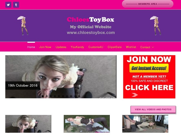 Chloes Toy Box Free Code