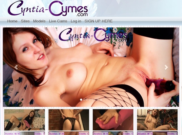 Cyntia Cymes Members Area