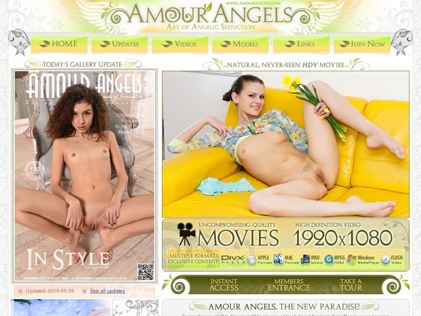 New Free Amour Angels Account