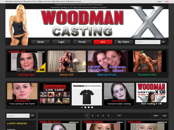 Paypal Woodman Casting X Sign Up