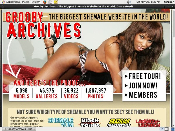 Free Working The Grooby Archives Logins