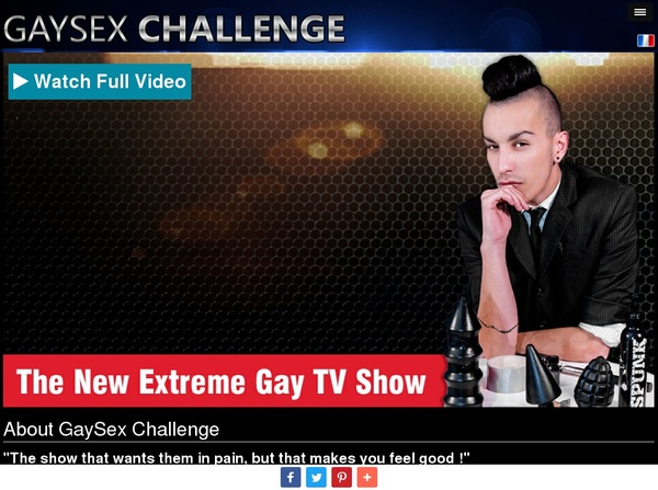 Gay Sex Challenge $1 Trial