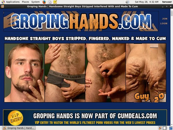 Gropinghands Free Trial Password