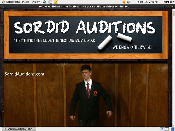 Sordidauditions.com Paysite Passwords