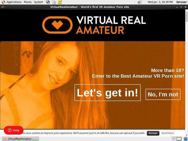 Virtual Real Amateur Account 2014