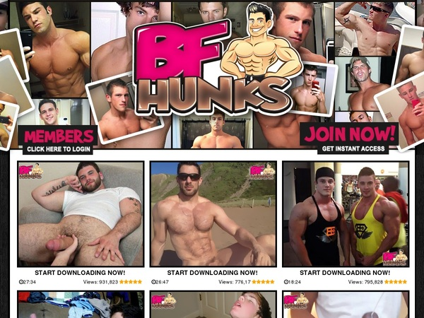 BF Hunks Discount Offer 2018