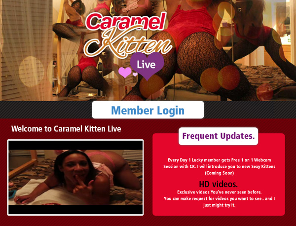 Caramelkittenlive.com Members