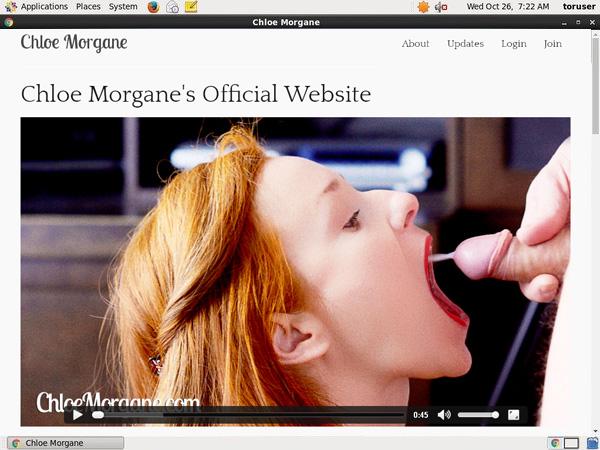 Does Chloe Morgane Use Paypal?