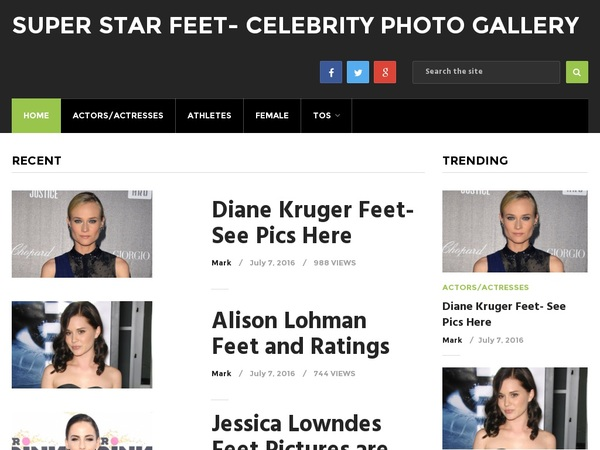 Superstarfeet.com Android