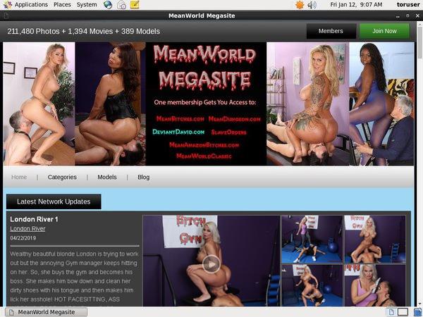 Mean World Porn Account